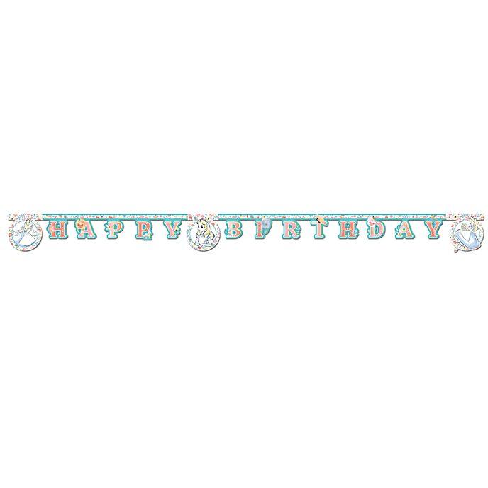 Disney Store Alice in Wonderland Birthday Banner