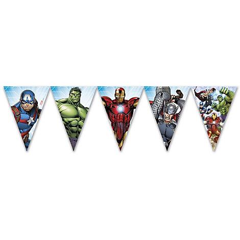Festone con bandierine Marvel Avengers