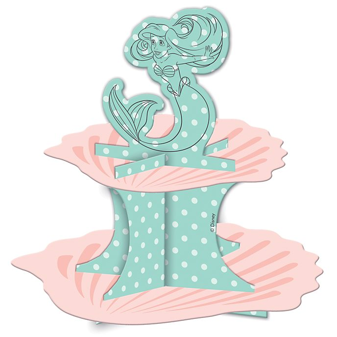 The Little Mermaid Cake Stand