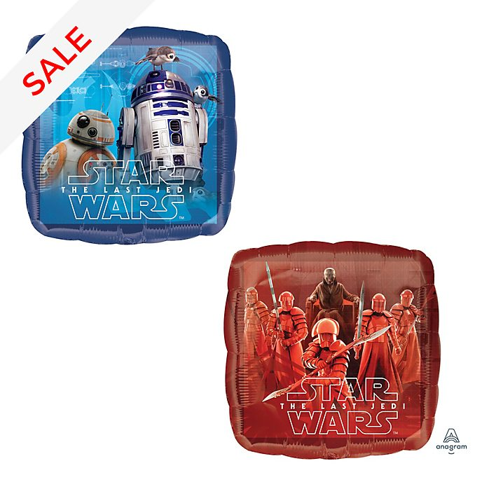 Disney Store Star Wars: The Last Jedi Foil Balloon