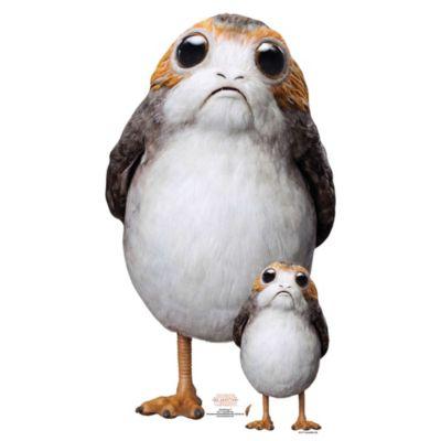 Sagoma in cartone Porg, Star Wars: Gli Ultimi Jedi