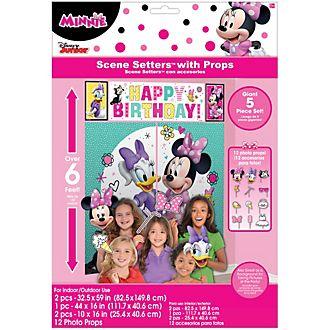 Disney Store - Minnie Maus und Freunde - Party-Wanddekoration mit Zubehör