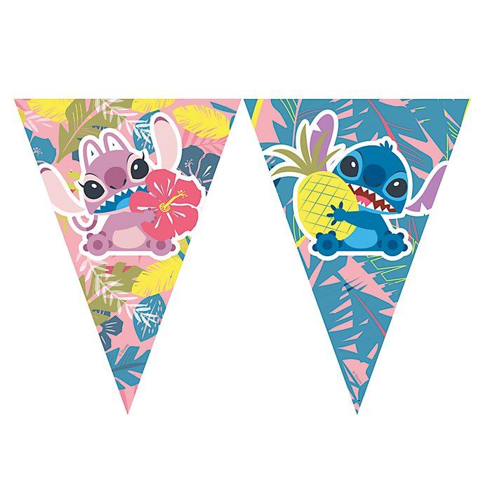 Stitch und Angel - Wimpelgirlande