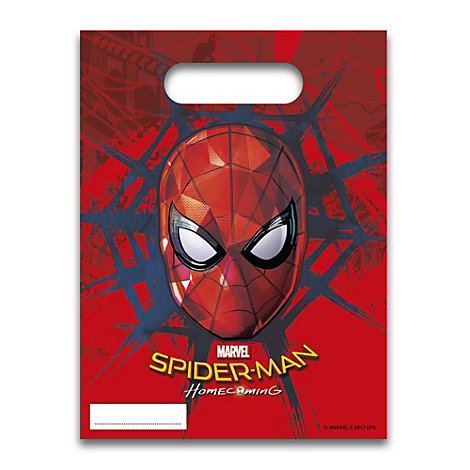 Spider-Man - Partytüten, 6er-Pack