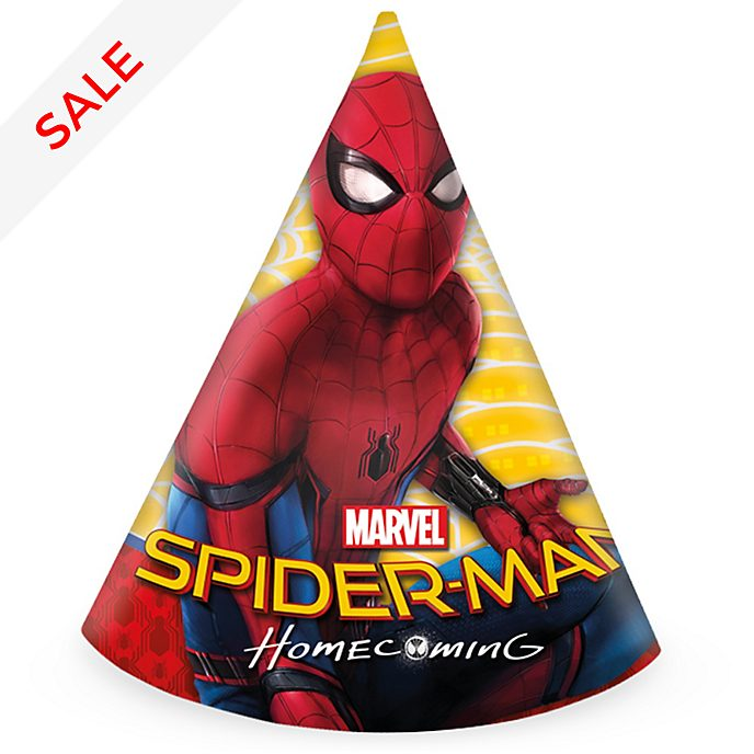 Spider-Man Homecoming - Partyhüte, 6er Set
