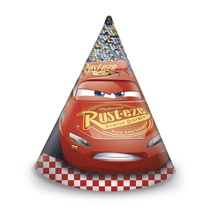 Disney Store Lightning McQueen x6 Party Hats