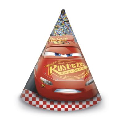 Lightning McQueen x6 Party Hats