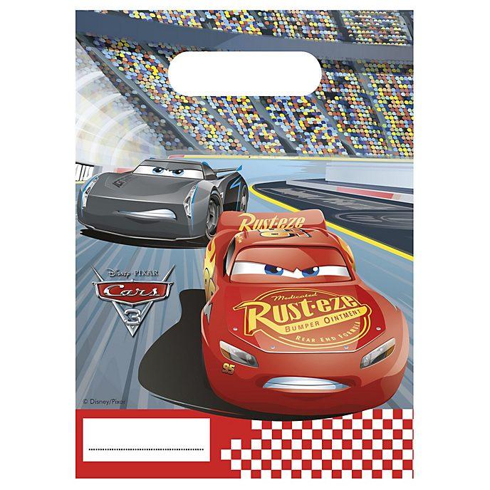 Lot de 6sachets cadeaux Disney Pixar Cars3