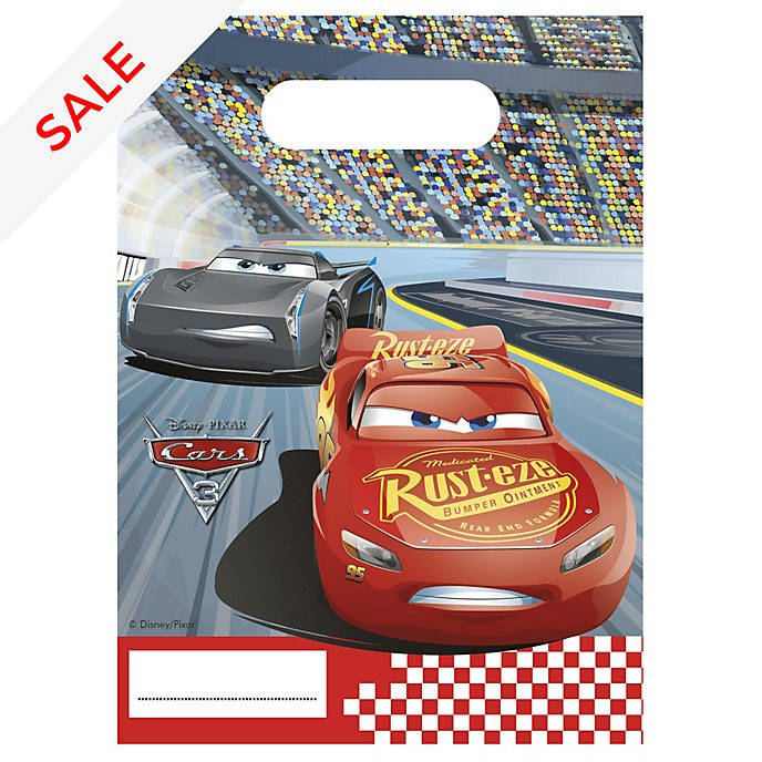 Disney Pixar Cars 3 6x Party Bags