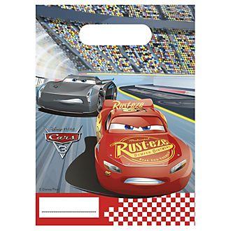 Set 6 bolsas fiesta, Disney Pixar Cars 3