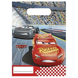 Disney Pixar Cars 3, 6 sacchettini
