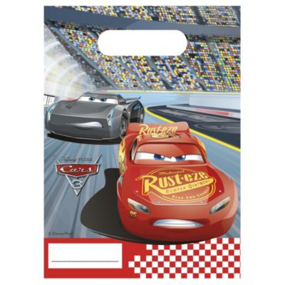 Disney Pixar Cars 3, 6 sacchettini