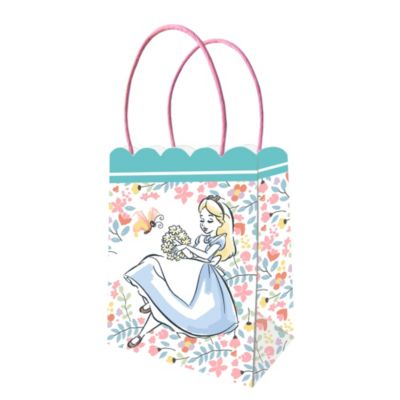 Alice in Wonderland x6 Party Bags