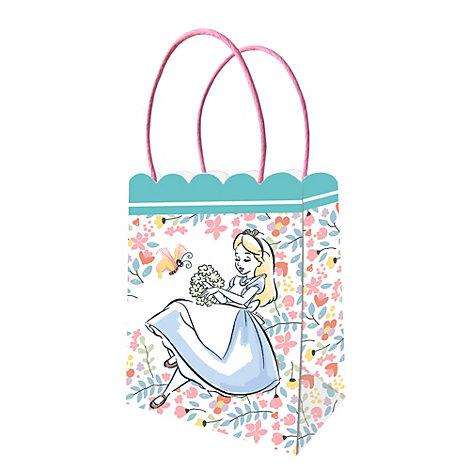 Set de 6 bolsas de fiesta de Alicia en el País de las Maravillas