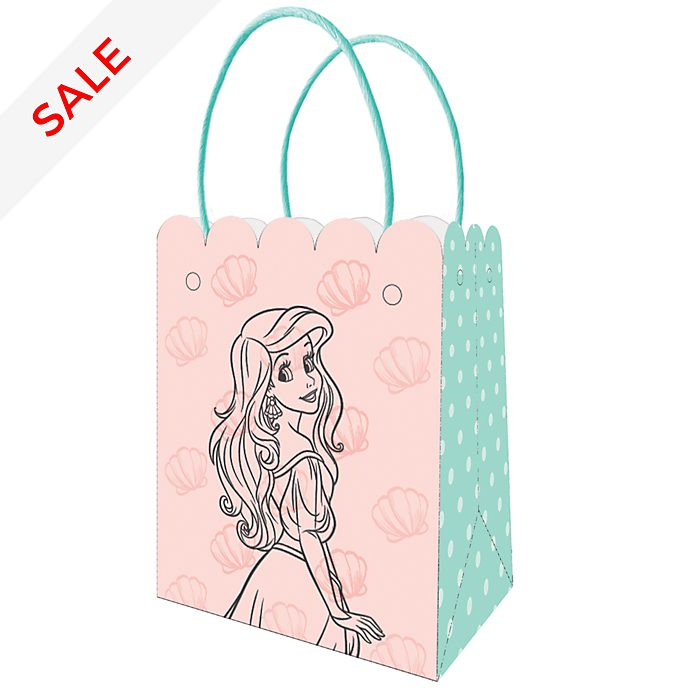 Disney Store The Little Mermaid 6x Party Bags