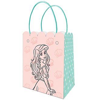 Set 6 bolsas fiesta, La Sirenita, Disney Store