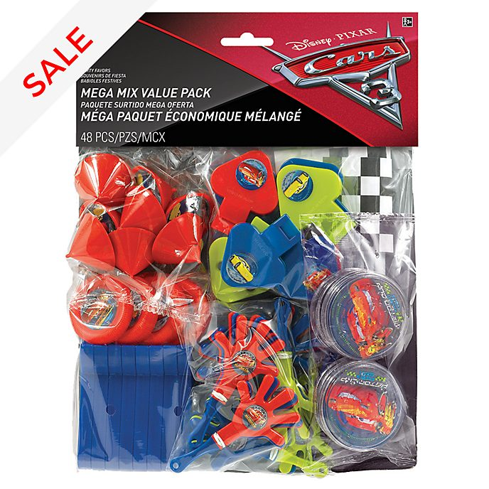 Disney Pixar Cars 48 Piece Party Favours Pack