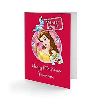 Belle Personalised Greeting Card
