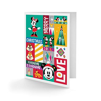 Mickey and Friends Share the Magic Personalised Greeting Card