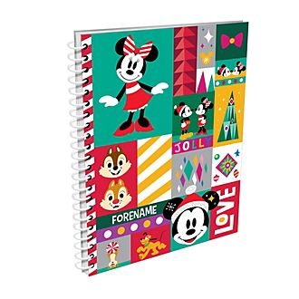 Mickey and Friends Share the Magic Personalised A5 Notebook