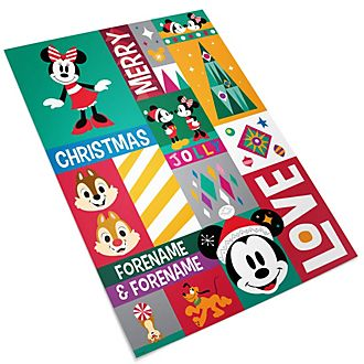 Mickey and Friends Share the Magic Personalised Gift Wrap