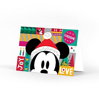 Mickey Mouse Share the Magic Personalised Greeting Card