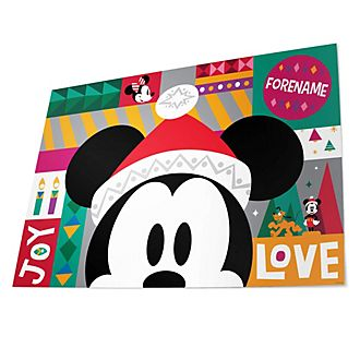 Mickey Mouse Share the Magic Personalised Gift Wrap