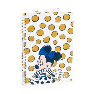 Minnie Mouse Personalised A5 Polka Dot Notebook