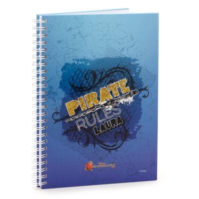 Disney Descendants 2 'Pirate Rules' Personalised Notebook