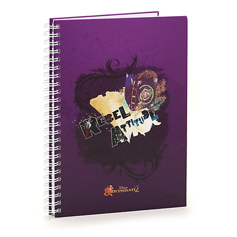 'Rebel Attitude' Personalised Notebook