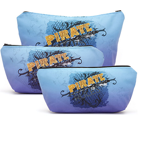 Disney Descendants 2 'Pirate Rules' Personalised Cosmetics Case