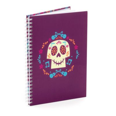 Skull A5 Personalised Notebook, Disney Pixar Coco