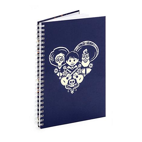 Mono A5 Personalised Notebook, Disney Pixar Coco