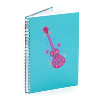 Guitar A5 Personalised Notebook, Disney Pixar Coco