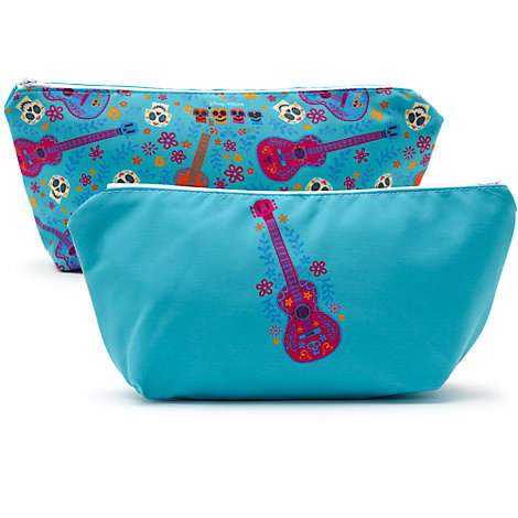Guitar Personalised Wash Bag, Disney Pixar Coco