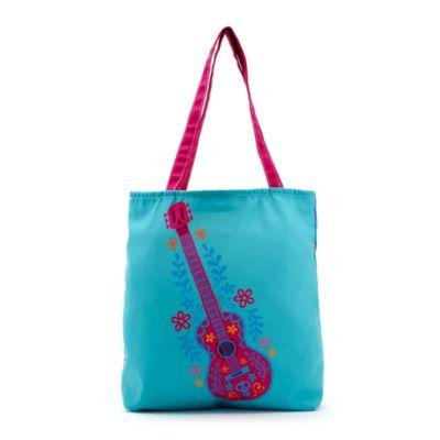 Guitar Personalised Tote Bag, Disney Pixar Coco