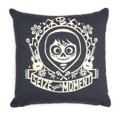 'Seize Your Moment' Personalised Cushion, Disney Pixar Coco