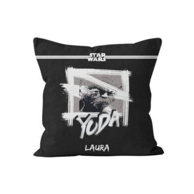Yoda Personalised Cushion, Star Wars