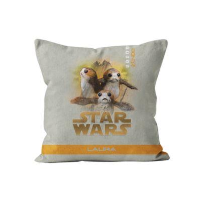 Porgs Personalised Cushion, Star Wars: The Last Jedi