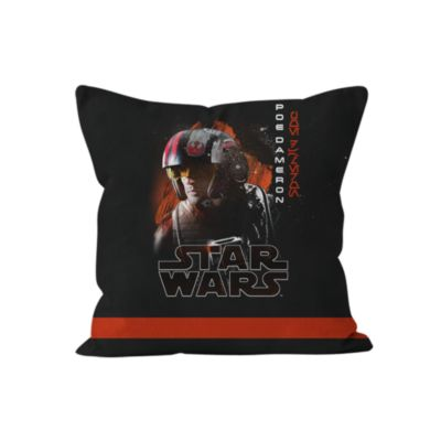 Poe Dameron Personalised Cushion, Star Wars: The Last Jedi