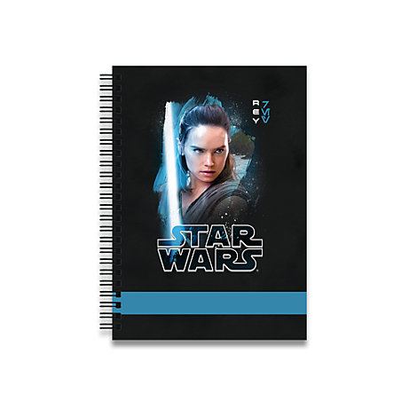 Rey Personalised A5 Notebook, Star Wars: The Last Jedi