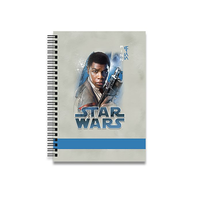 Finn Personalised A5 Notebook, Star Wars: The Last Jedi