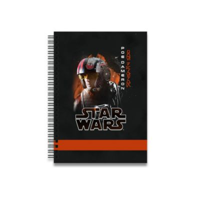 Poe Dameron Personalised A5 Notebook, Star Wars: The Last Jedi