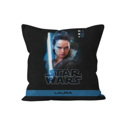 Rey Personalised Cushion, Star Wars: The Last Jedi