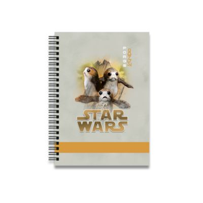 Porgs Personalised A5 Notebook, Star Wars: The Last Jedi