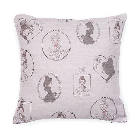 Belle Blush Personalised Grey Cushion