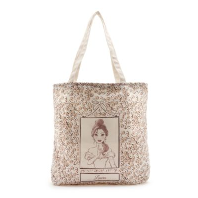 Belle Blush Personalised Sequin Tote Bag
