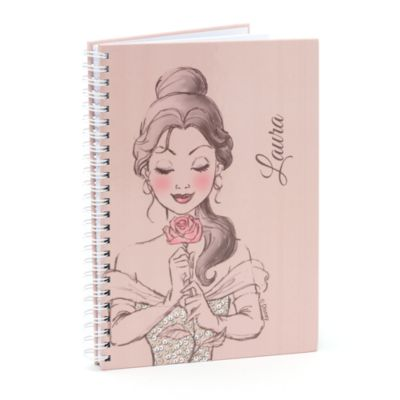 Belle Blush Personalised A5 Notebook