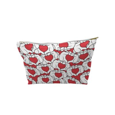 Mickey Mouse Love Heart Wash Bag