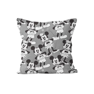 Mickey and Minnie Love Heart Personalised Cushion